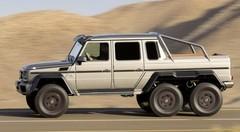 Mercedes G63 AMG 6x6 : Tempête du désert