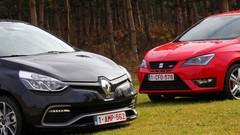 Essai Renault Clio RS vs Seat Ibiza Cupra : Régime turbo !