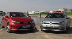Essai Volkswagen Golf vs Toyota Auris : une place sur le trône