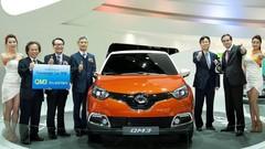 Le Renault Samsung QM3 élu voiture du salon de Séoul 2013