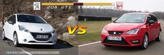 Essai Peugeot 208 GTI face à la Seat Ibiza Cupra : sportives du quotidien