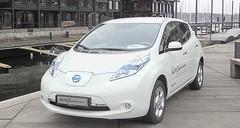 La Nissan Leaf avec la batterie en location