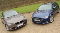 Essai Audi A3 TDI 105 vs BMW 116d Efficient Dynamics : Premium sobres