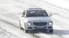 Mercedes Classe C (2014) : premières photos sans camouflage !