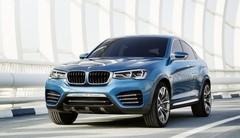 Nouvelles photos du BMW X4 Concept