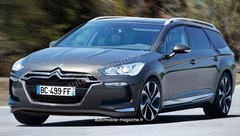 Future Citroën C5 Tourer : Sans influence américaine