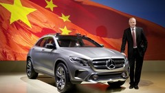 Mercedes GLA Concept : pas loin de la série