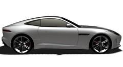 Jaguar F-Type Coupé : les rendus 3D en fuite