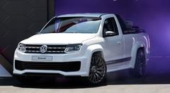 Volkswagen Amarok Power Pickup : pick-up de course