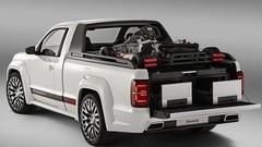 Volkswagen Amarok V6 TDI R-Style concept : 272 ch et un look de GTI du désert