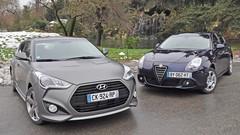 Essai Alfa Romeo Giulietta vs Hyundai Veloster Turbo : Victimes de la mode