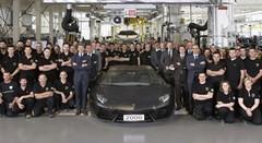 Lamborghini : déjà 2000 Aventador produites
