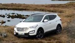Hyundai triomphe avec le Santa Fe : meilleure présentation de presse 2012