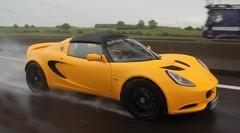 Essai Lotus Elise S au quotidien : jour 3, avec 536 km d'autoroute A6 à avaler sous la pluie