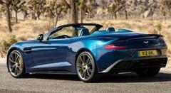 Aston Martin Vanquish Volante : comme un parfum d'Euro Millions