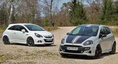 Essai Abarth Punto SuperSport vs Opel Corsa OPC Nürburgring Edition : Les valseuses