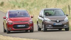Essai Citroën C4 Picasso 2013 vs Renault Scénic