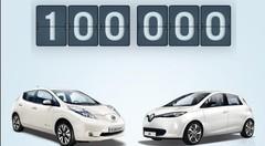 Renault-Nissan a vendu 100 000 voitures Zéro Émission