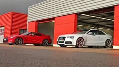 Essai Audi RS5 vs Nissan GT-R : Chic et choc
