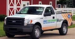 Le Ford F150 adopte le gaz naturel