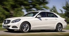 Mercedes E200, la plus belle des voitures au GNV