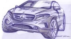 Mercedes GLA 2013 : des esquisses pour patienter