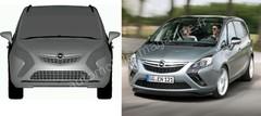 Restylage Opel Zafira Tourer : Renouvellement en deux temps