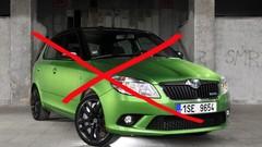 Il n'y aura plus de Skoda Fabia RS