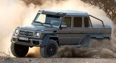 Mercedes-Benz G63 AMG 6x6: 451010 euros!