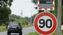 """Baisse de la vitesse : """"40 millions d'automobilistes"""" écrit à Valls"""