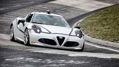Alfa Romeo 4C : un chrono de 8'04'' sur le Nürburgring