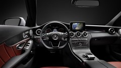 La planche de bord de la future Mercedes Classe C