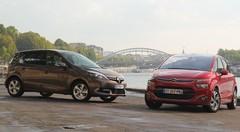 Essai Citroën C4 Picasso vs Renault Scénic : une place sur le trône