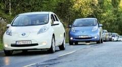 Nissan Leaf : boudée en France, n°1 en Norvège