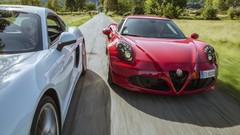 Essai Alfa Romeo 4C vs Porsche Cayman : Un poids, c'est tout !