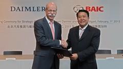 Daimler prend 12% du capital du chinois BAIC Motor