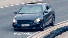 La future Mercedes CLA Shooting Brake