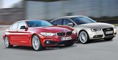 BMW Série 4 Gran Coupé contre Audi A5 Sportback : Concours de beautés