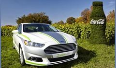 Ford utilise l'emballage PlantBottle de Coca Cola dans sa Fusion hybride rechargeable