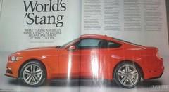 Nouvelle Ford Mustang : elle s'échappe au triple galop