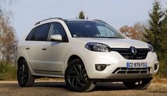 Essai Renault Koleos restylé : peine perdue