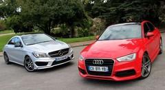 Essai Audi A3 berline vs Mercedes CLA : Les compactes se font la malle