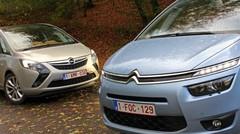 Essai Citroën C4 Grand Picasso vs Opel Zafira Tourer : Combat de Maîtres !