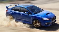 Subaru WRX STi 2014 : premières photos en fuite