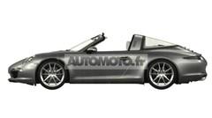 Porsche 911 Targa 2014 : présentation le 13 janvier