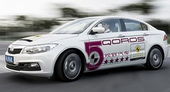 Euro NCAP : la Qoros 3 en tête de sa catégorie pour 2013