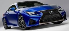 Lexus RC F : cadeau d'anniversaire