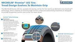 Michelin présente le PREMIER A/S, pneu performant même usé