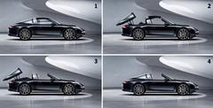 Porsche Targa, l'ingénieux système de toit en action