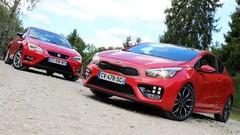 Essai Kia Pro Cee'd GT vs Seat Leon SC FR : Le sport accessible